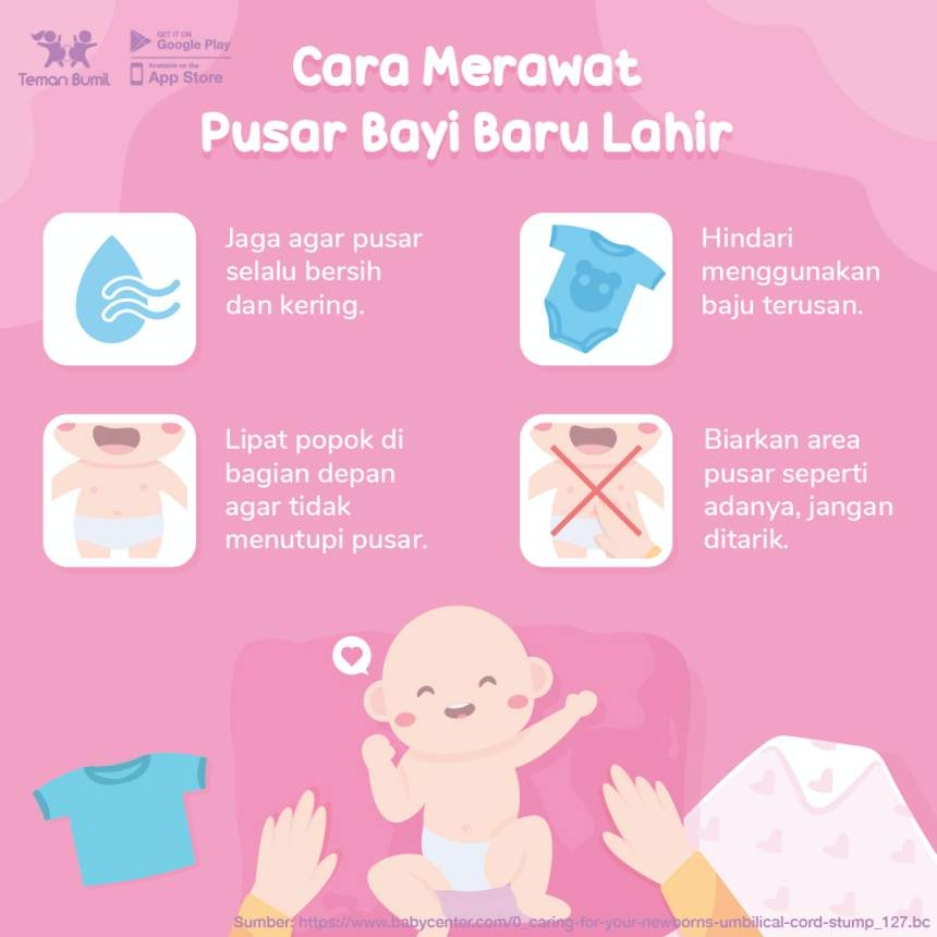 Cara Merawat Pusat Bayi   GueSehat