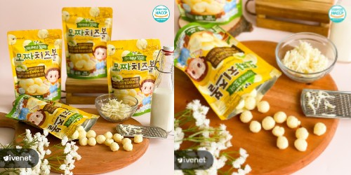 Ivenet Mozza Cheese Ball - GueSehat